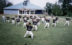 Taiji on the 55 Plus Centre lawn